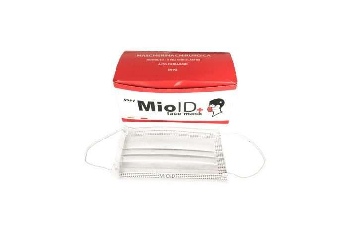 foto Mascherina chirurgica MioIDbox box 50 pz