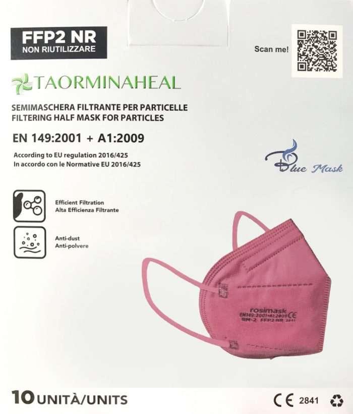 foto mascherina rosa ffp2