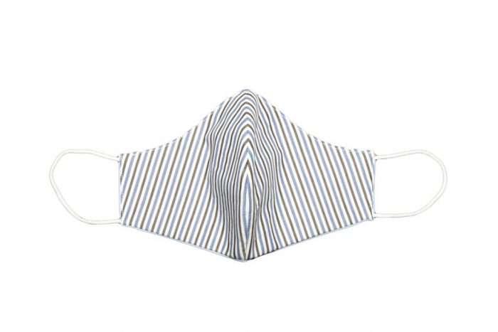 foto Mascherina lavabile 100% Cotone Stripe